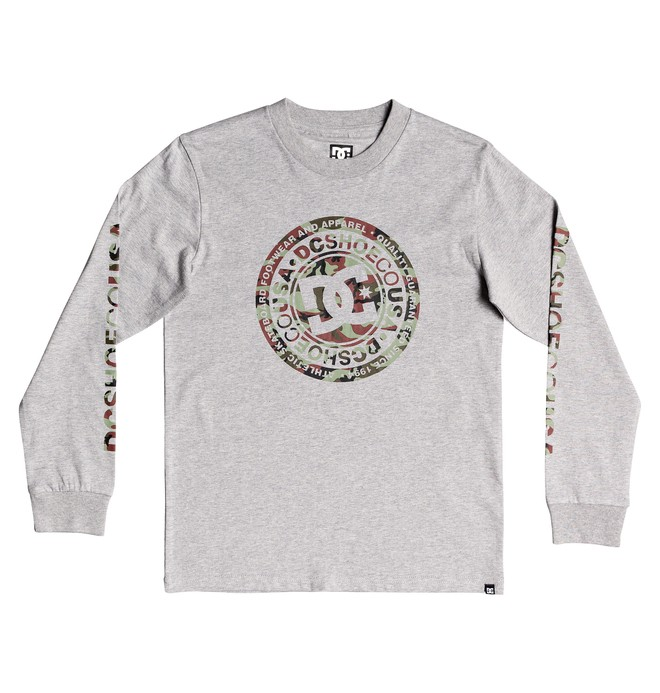 0 Circle Star Long Sleeve Tee Black EDBZT03360 DC Shoes