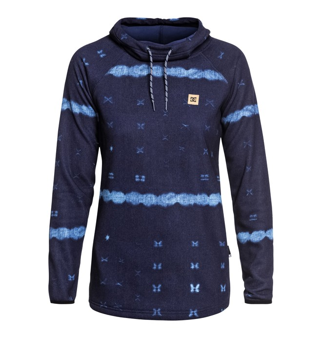 0 Salem - Sweat à capuche technique pour Femme Bleu EDJFT03060 DC Shoes