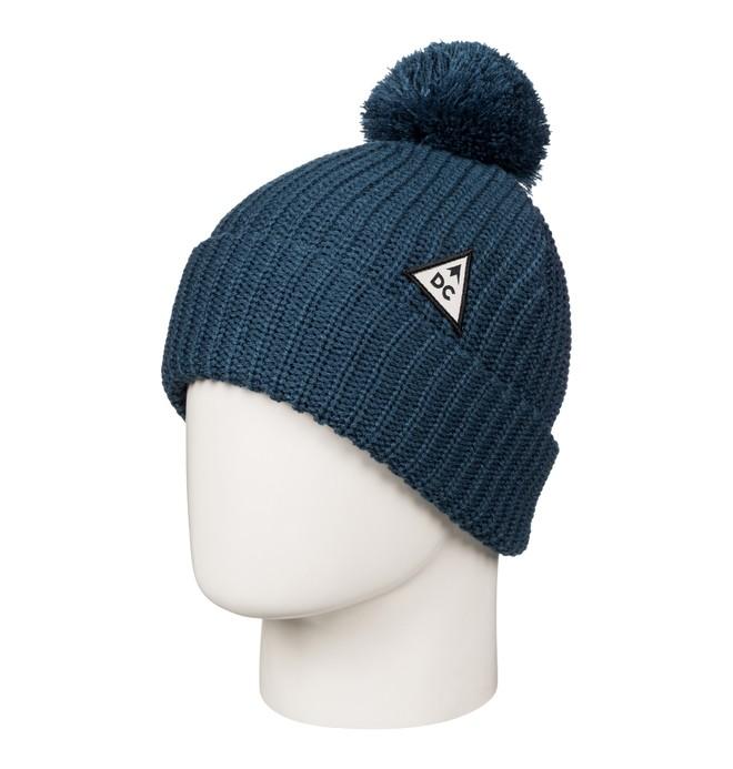 0 Iva - Bonnet à revers pour Femme Bleu EDJHA03020 DC Shoes