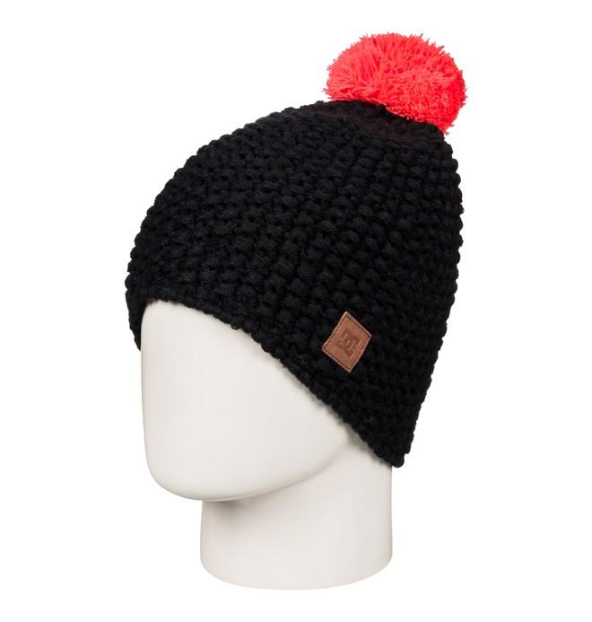 0 Leaf - Bobble Hat for Women Black EDJHA03023 DC Shoes
