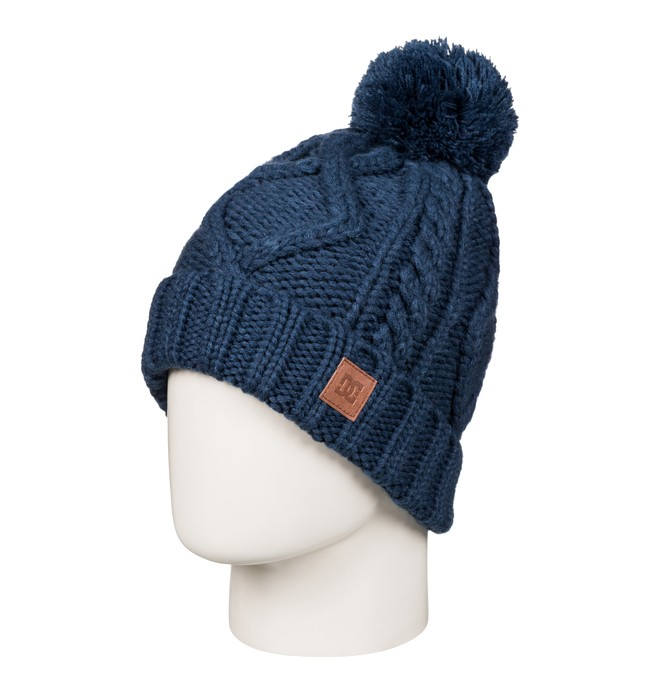 0 Women's Tayce Bobble Hat  EDJHA03024 DC Shoes