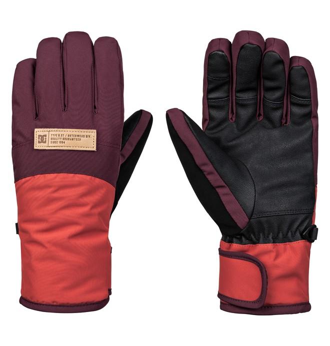 0 Franchise - Guantes para esquí/snowboard para Mujer Rojo EDJHN03012 DC Shoes