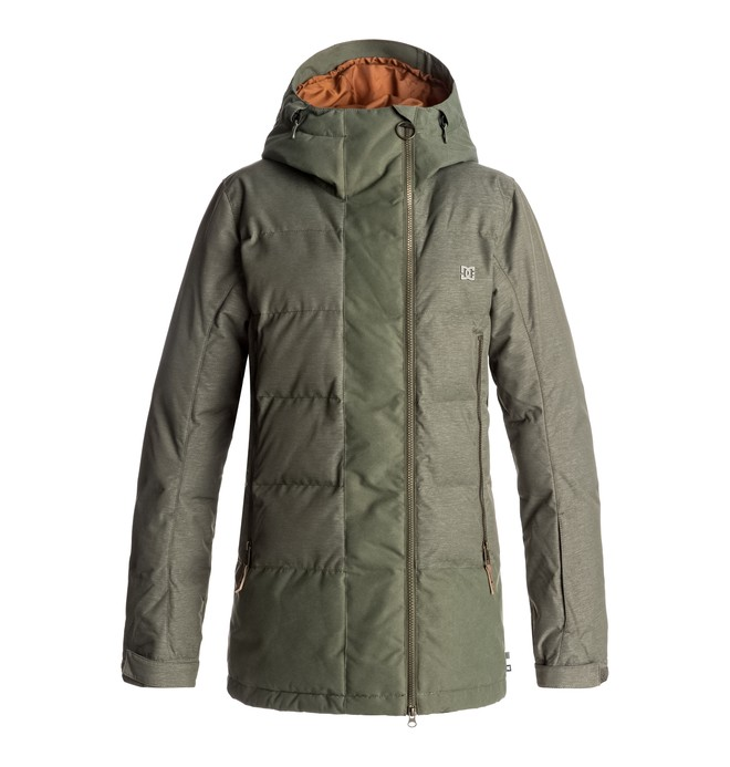 0 Liberty - Snow Jacket for Women Green EDJTJ03023 DC Shoes