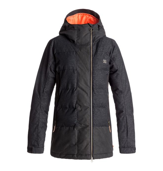 0 Liberty - Snow Jacket for Women Black EDJTJ03023 DC Shoes