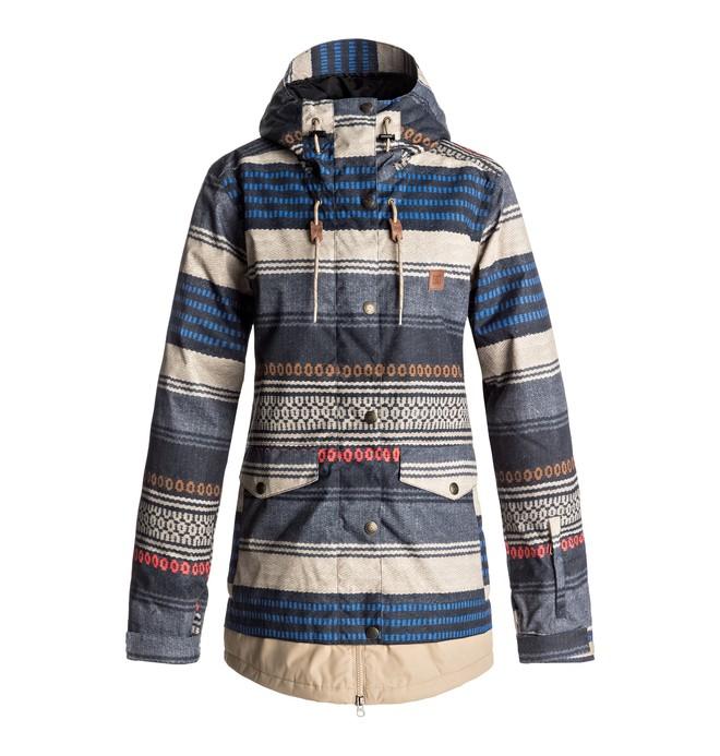 0 Riji - Snow Jacke für Frauen Braun EDJTJ03026 DC Shoes