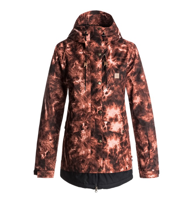 0 Riji - Chaqueta Para Nieve para Mujer Rojo EDJTJ03026 DC Shoes