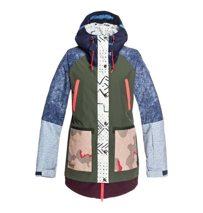 0 Riji SE - Parka de snow pour Femme Vert EDJTJ03033 DC Shoes