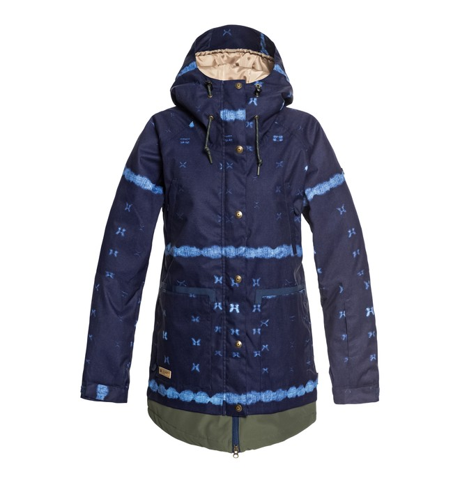 0 Women's Riji Snow Jacket Blue EDJTJ03035 DC Shoes