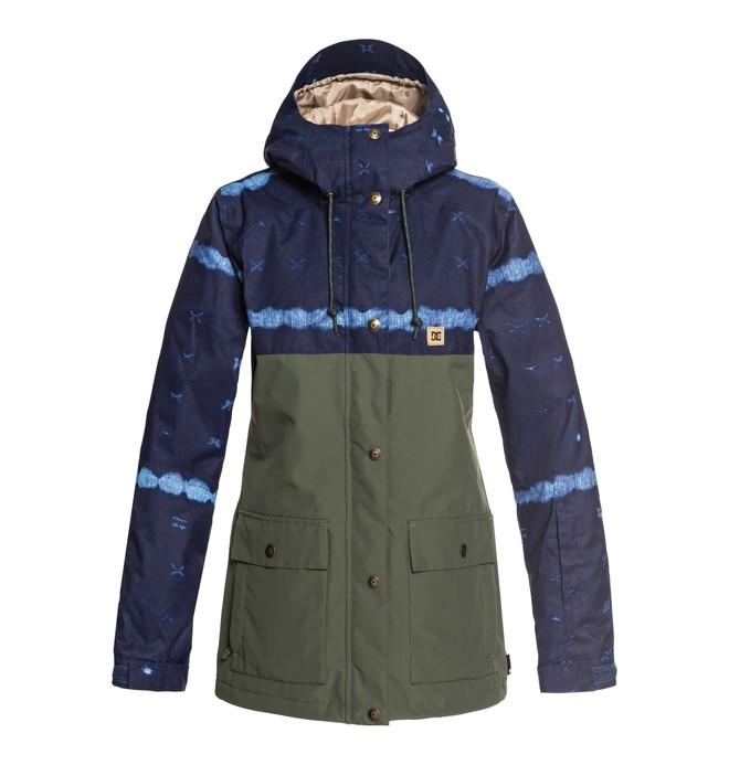 0 Cruiser - Parka de snow pour Femme Bleu EDJTJ03036 DC Shoes