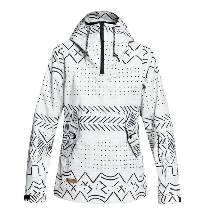 0 Women's Skyline Snow Jacket White EDJTJ03038 DC Shoes