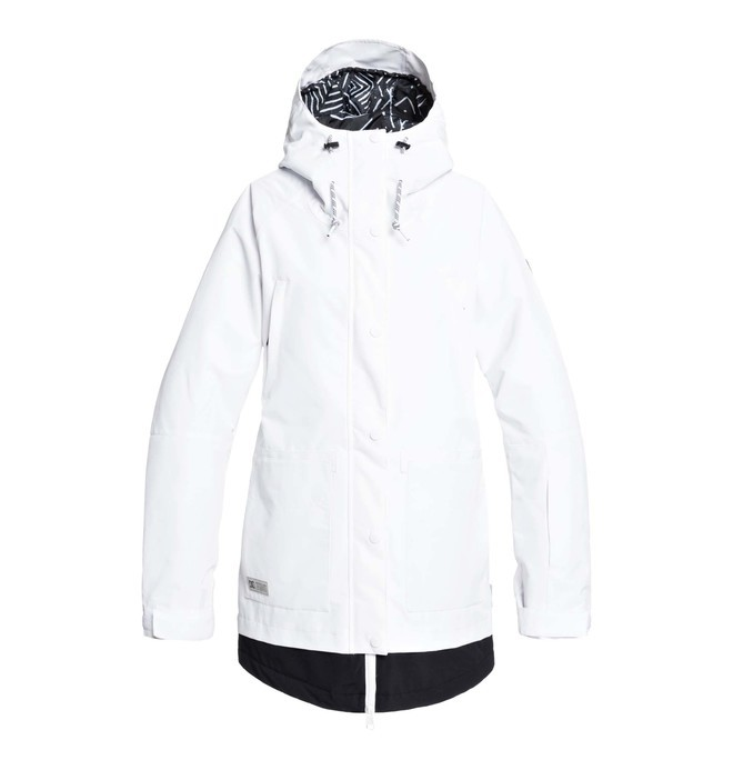 0 Riji - Snow Jacket White EDJTJ03042 DC Shoes