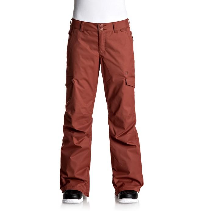 0 Ace - Snow Pants for Women Red EDJTP03014 DC Shoes