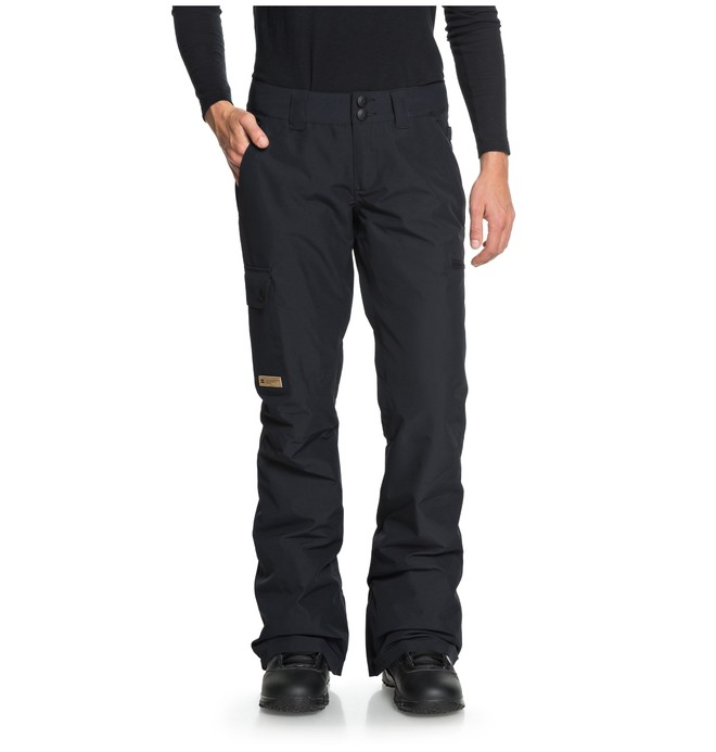 0 Women's Recruit Snow Pants Black EDJTP03019 DC Shoes