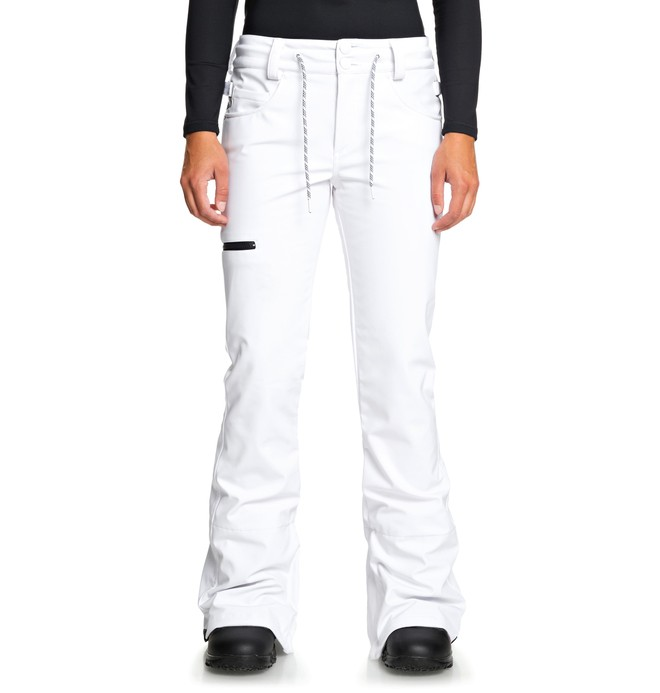 0 Viva - Softshell Snow Pants White EDJTP03023 DC Shoes