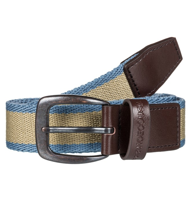 0 Duel Tone - Webbing Belt for Men Brown EDYAA03134 DC Shoes