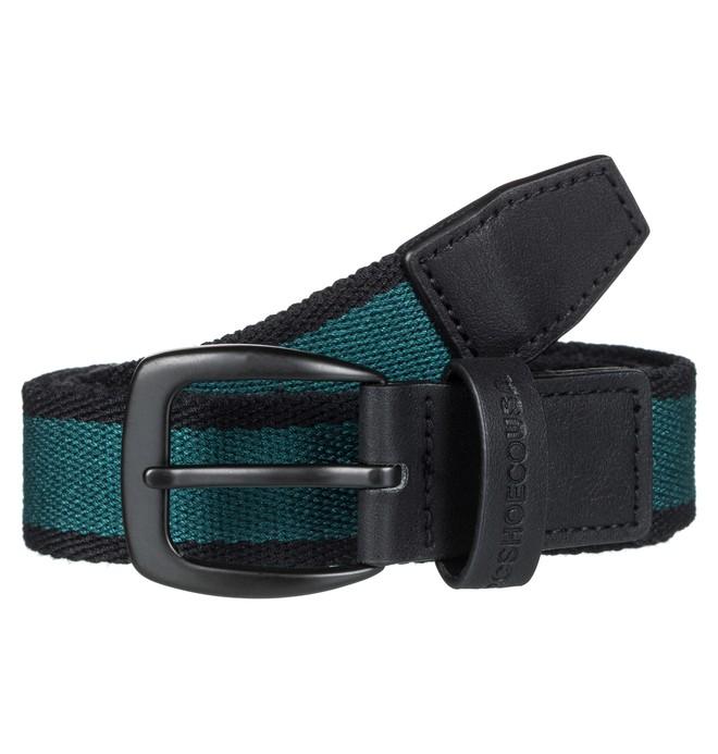 0 Duel Tone - Cinturón de Poliéster para Hombre Verde EDYAA03134 DC Shoes