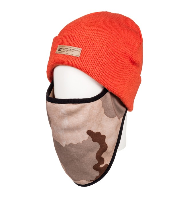 0 Variable - Gorro calienta cara para Hombre Naranja EDYAA03141 DC Shoes