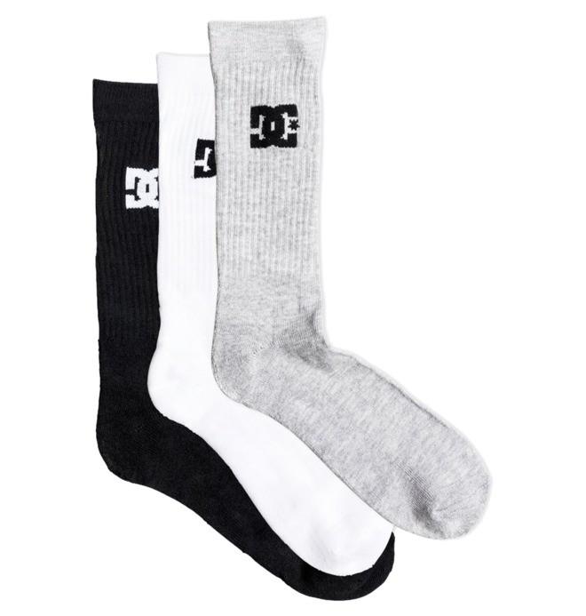 DC - 3-Pack Crew Socks for Men  EDYAA03149