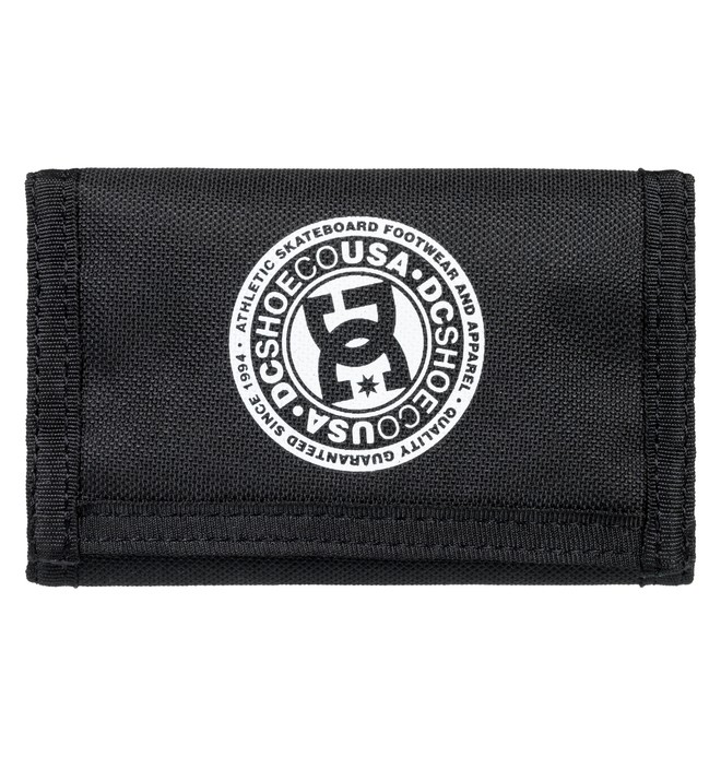 0 Ripstop Tri-Fold Wallet Black EDYAA03162 DC Shoes
