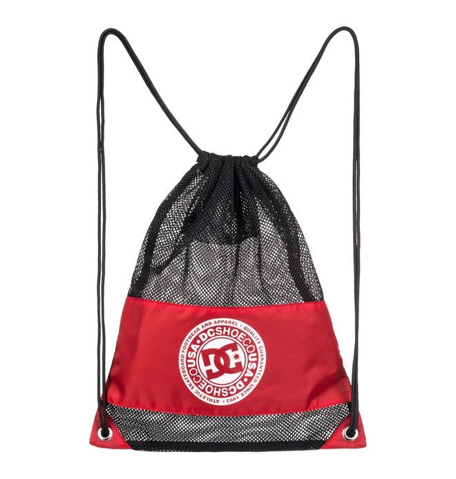 0 Jim Cincher Drawstring Bag Red EDYBA03052 DC Shoes