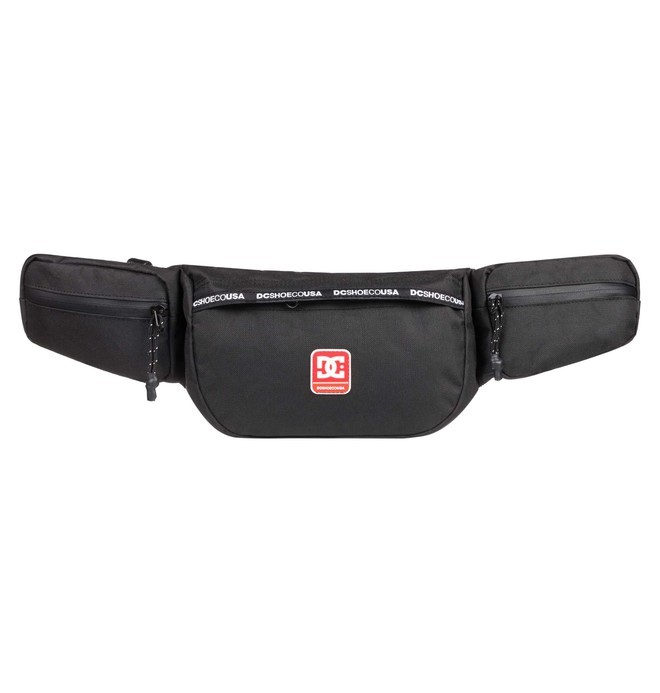 0 The Satch Fanny Pack Black EDYBA03057 DC Shoes
