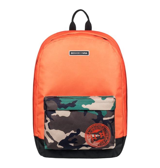 0 Backstack 18.5L Medium Backpack Orange EDYBP03179 DC Shoes