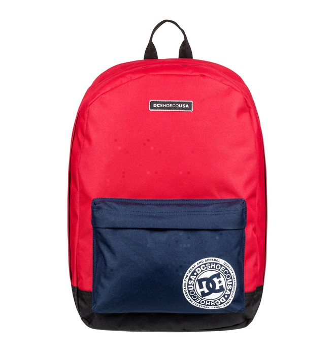 0 Backstack 18.5L - Medium Backpack Red EDYBP03179 DC Shoes