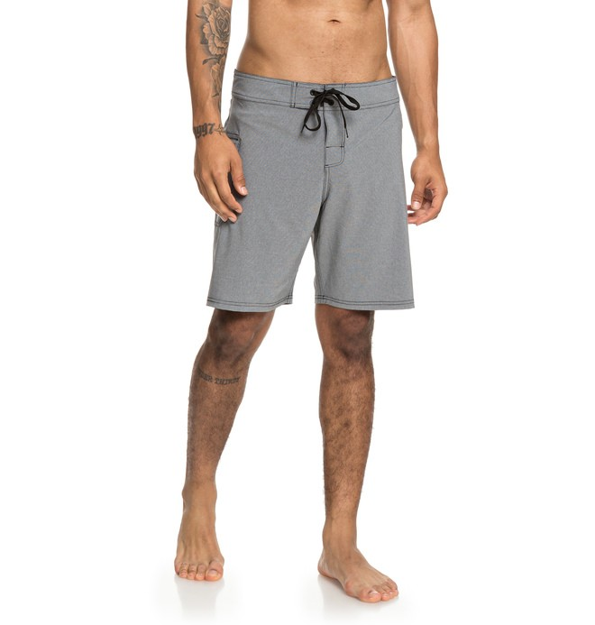 "0 Local Lopa 18"" - Board Shorts for Men Gray EDYBS03087 DC Shoes"