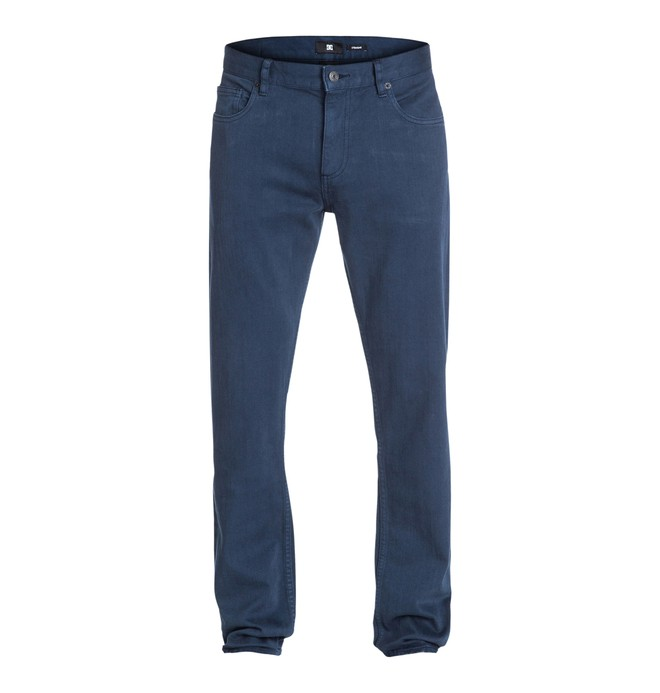 "0 Worker Straight Color 30"" Inseam Jeans  EDYDP03051 DC Shoes"