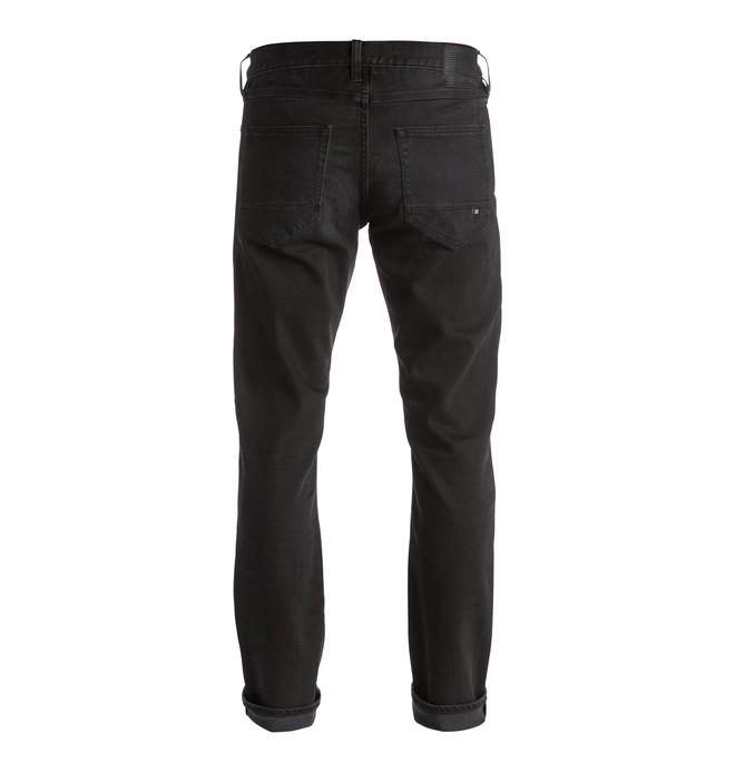 Washed Dark Grey - Straight Fit Jeans EDYDP03264