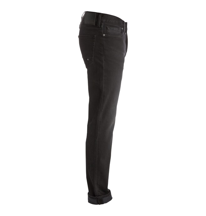 Washed Dark Grey - Straight Fit Jeans EDYDP03264