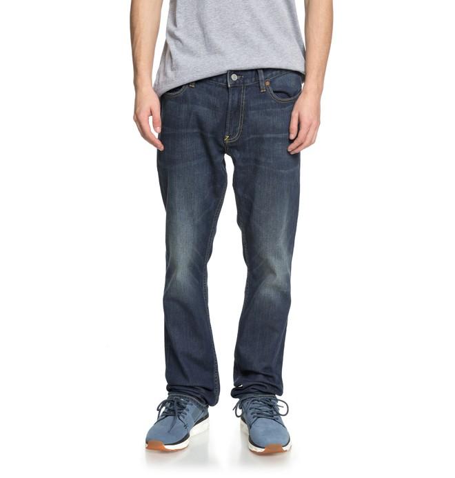 a591825980 0 Worker Medium Stone - Vaquero de Corte Recto para Hombre Azul EDYDP03365 DC  Shoes