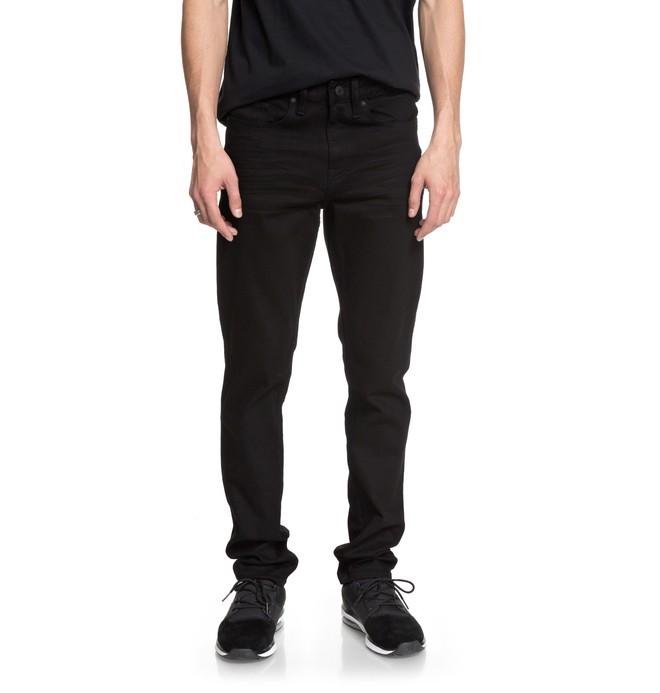 0 Worker Black Rinse - Vaquero de Corte Ajustado para Hombre  EDYDP03366 DC Shoes