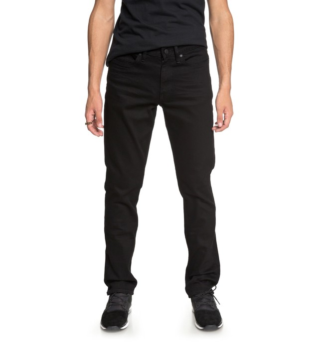 0 Worker Black Rinse Straight Fit Jeans  EDYDP03367 DC Shoes