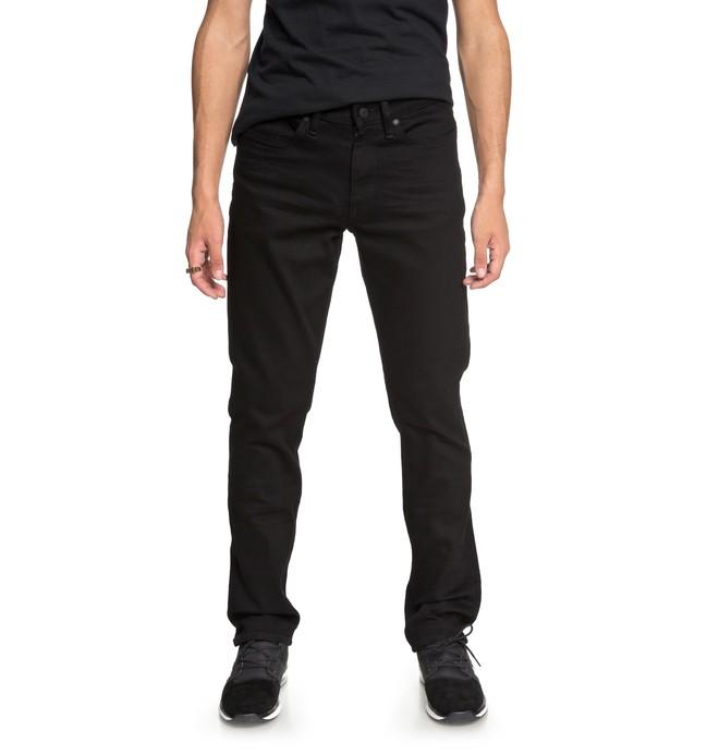 0 Worker Black Rinse - Vaquero de Corte Recto para Hombre  EDYDP03367 DC Shoes