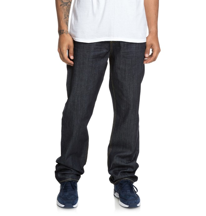 0 Worker - Relaxed Fit Jeans for Men Blue EDYDP03378 DC Shoes