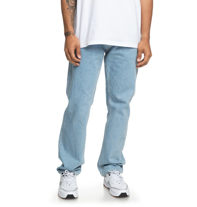0 Worker - Jean relaxed pour Homme Bleu EDYDP03380 DC Shoes