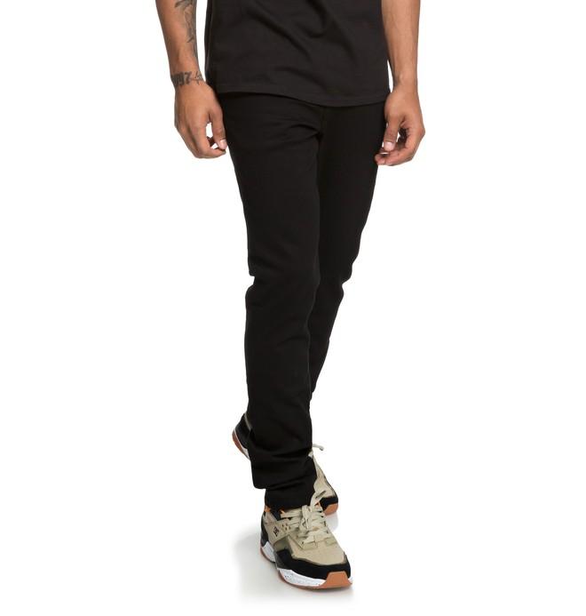 0 Worker Black - Jean slim pour Homme Noir EDYDP03383 DC Shoes