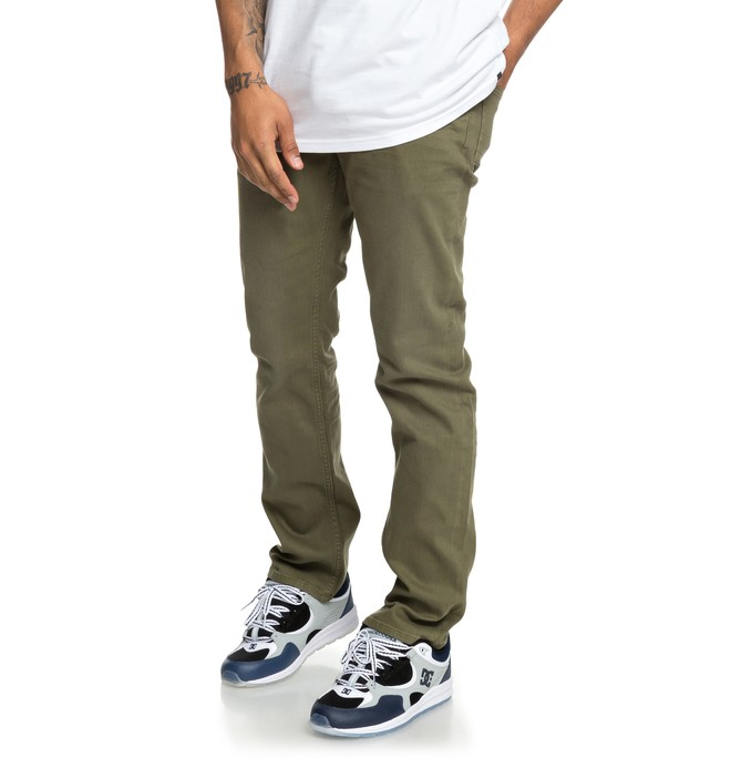 0 Sumner - Straight Fit Jeans for Men Green EDYDP03389 DC Shoes