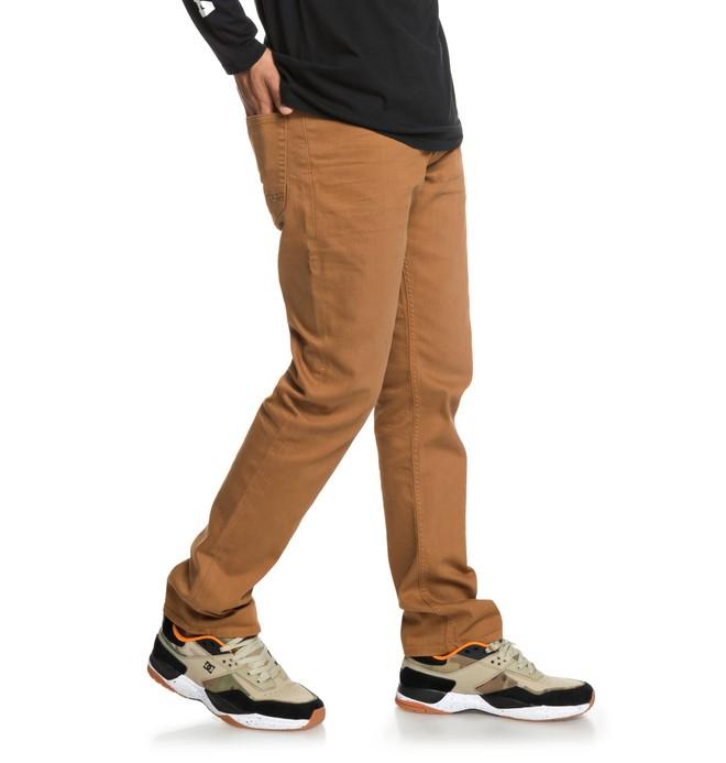 0 Sumner - Straight Fit Jeans for Men Orange EDYDP03389 DC Shoes