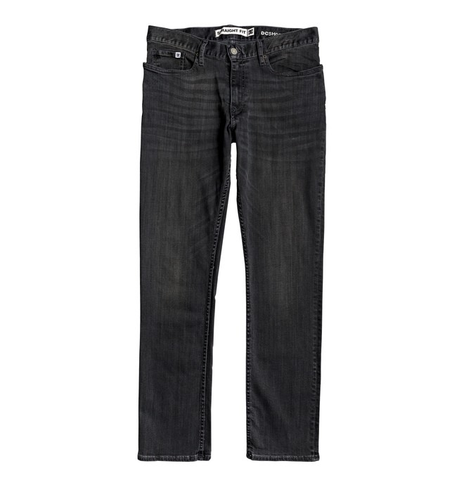 Worker Medium Grey - Straight Fit Jeans  EDYDP03401
