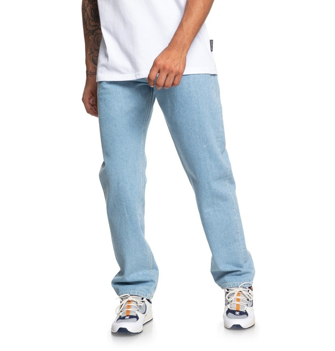 0 Worker - Vaquero de Corte Relajado para Hombre Azul EDYDP03404 DC Shoes