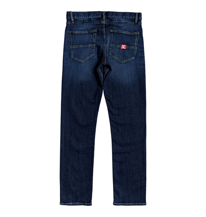 Worker Medium Stone - Straight Fit Jeans  EDYDP03407