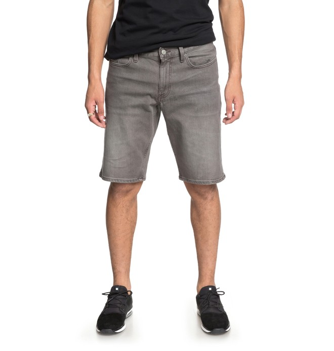 0 Worker - Denim Shorts for Men Gray EDYDS03031 DC Shoes