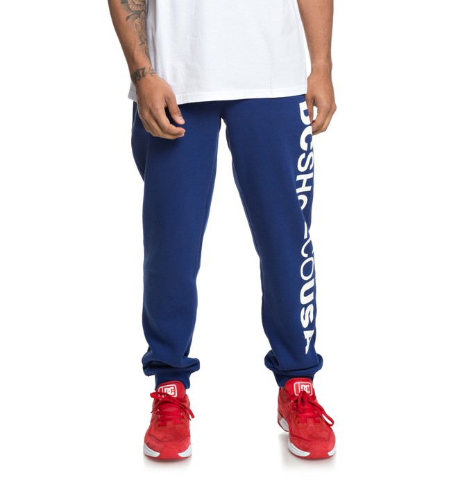 0 Clewiston - Joggers for Men Blue EDYFB03052 DC Shoes