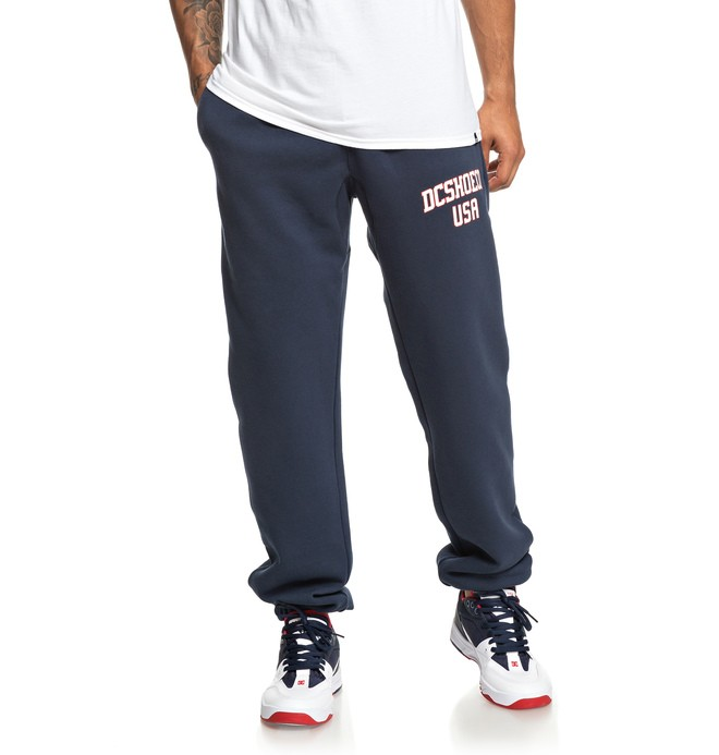 0 Glenridge Sweatpants Blue EDYFB03063 DC Shoes