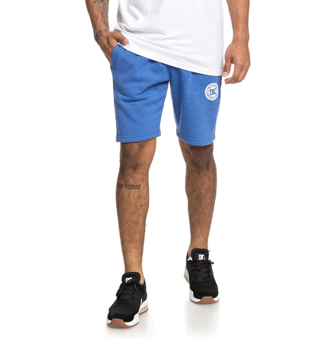 0 Rebel Sweat Shorts Blue EDYFB03064 DC Shoes