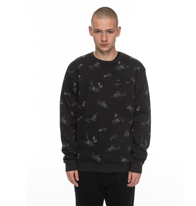 0 Ranstead - Sweatshirt Black EDYFT03321 DC Shoes