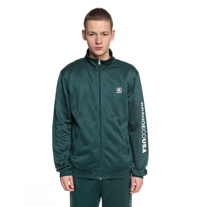 0 Heggerty Track - Trainingsjacke für Männer Grün EDYFT03353 DC Shoes