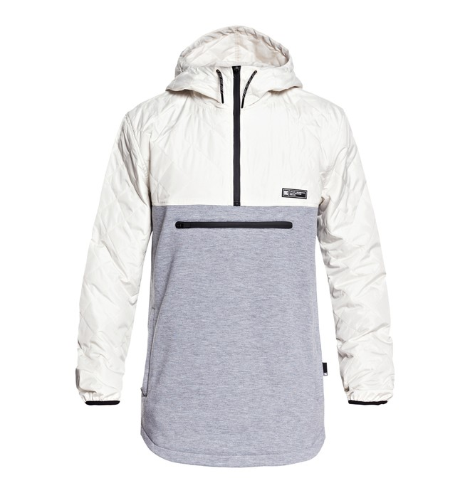 0 Barricade - Sweat à capuche technique pour Homme Blanc EDYFT03362 DC Shoes